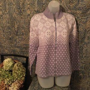 Norton McNaughton Ladies Sweater Size PXL